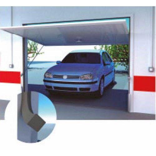 Burlete para garaje espuma gris 17x17mmx6 5m miarco comprar al mejo - Burletes para puertas de garaje ...