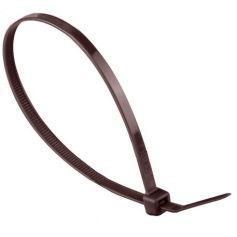Brida nylon marrón 300x4.8 bolsa 100 unidades Damesa