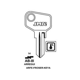 Llave serreta grupo C modelo AB-8I (caja 50 unidades) JMA