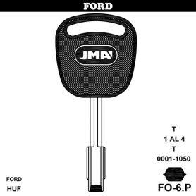 Llave para vehículo Ford modelo FO-6P (bolsa 10 unidades) JMA