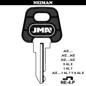Llave para vehículos NEIMAN NE-4P (bolsa 10 unidades) JMA