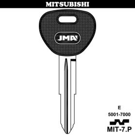 Llave para vehículos MITSUBISHI MIT-7P (bolsa 10 unidades) JMA