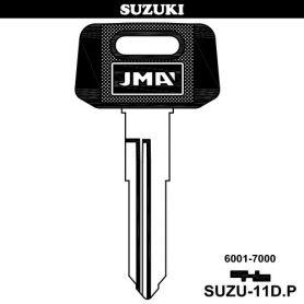 Llave para vehículos modelo SUZU-11DP