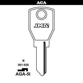 Llave serreta grupo B modelo AGA-5I (caja 50 unidades) JMA