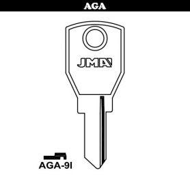 Llave serreta grupo B modelo AGA-9I (caja 50 unidades) JMA