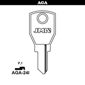 Llave serreta grupo B modelo AGA-24I (caja 50 unidades) JMA