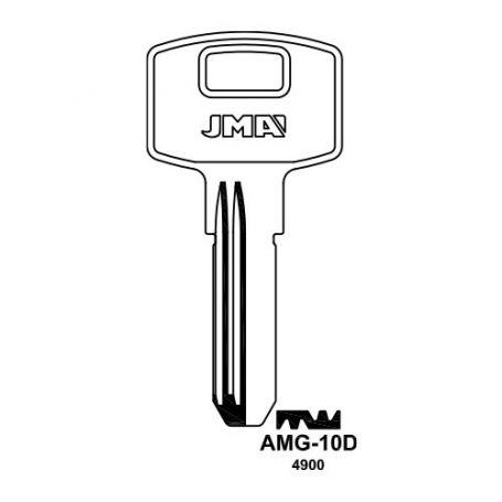 Llave seguridad laton modelo AMG-10D