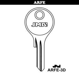 Llave serreta grupo B modelo ARFE-3D (caja 50 unidades) JMA