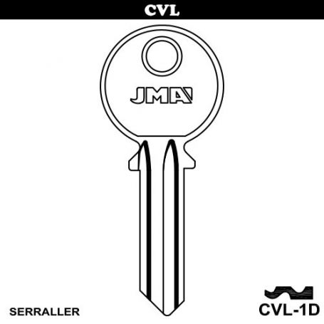 Llave serreta grupo B modelo CVL-1D