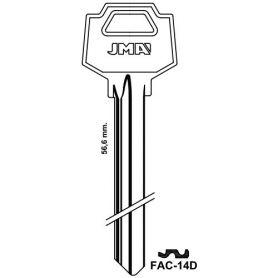 Llave serreta grupo C modelo FAC-14D (caja 50 unidades) JMA
