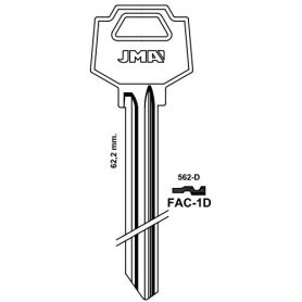Llave serreta grupo C modelo FAC-1D (caja 50 unidades) JMA