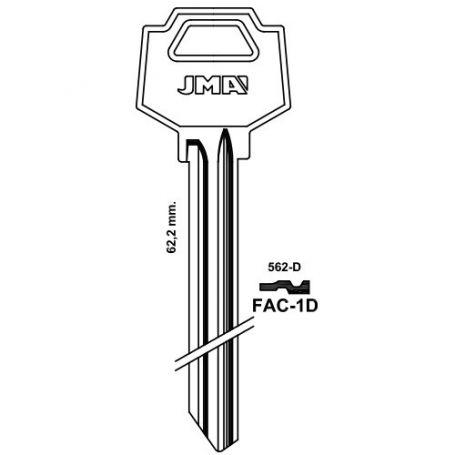 Llave serreta grupo C modelo FAC-1D
