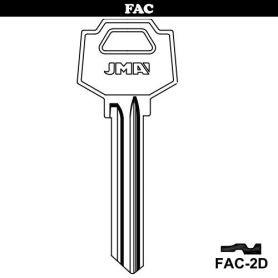Llave serreta grupo B modelo FAC-2D (caja 50 unidades) JMA