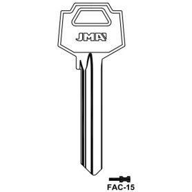 Llave serreta grupo A modelo FAC-15 (caja 50 unidades) JMA