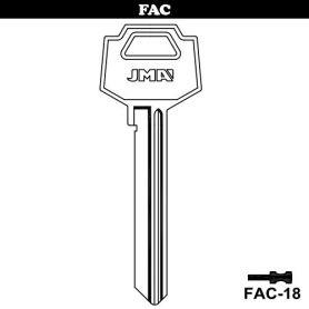 Llave serreta grupo B modelo FAC-18 (caja 50 unidades) JMA