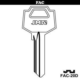 Llave serreta grupo C modelo FAC-20D (caja 50 unidades) JMA