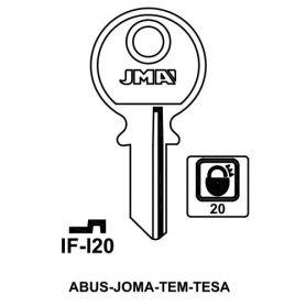 Llave serreta grupo B modelo IF-I20 (caja 50 unidades) JMA