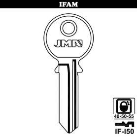 Llave serreta grupo B modelo IF-I-50 acero (caja 50 unidades) JMA
