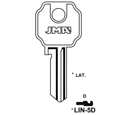 Llave serreta grupo b modelo lin5d (caja 50 unidades) JMA