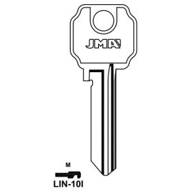 Llave serreta grupo b modelo lin10i acero (caja 50 unidades) JMA