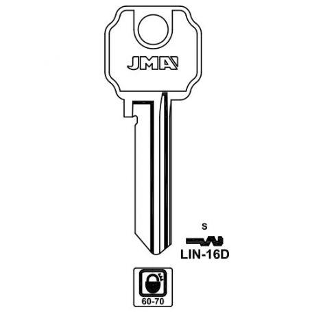 Llave serreta grupo b modelo lin16d (caja 50 unidades) JMA