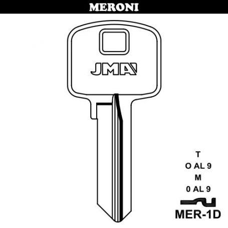 Llave serreta grupo b modelo mer1d (caja 50 unidades) JMA