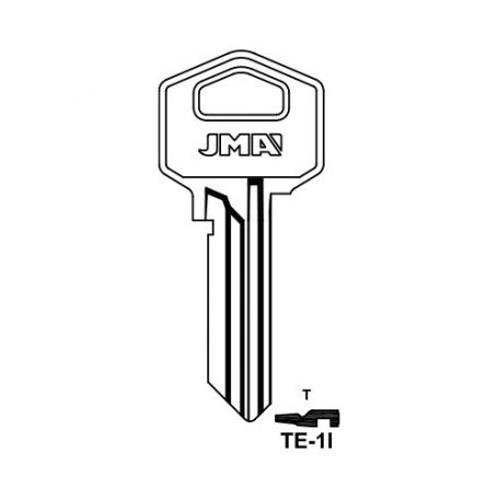 Llave serreta grupo b modelo te1i (caja 50 unidades) JMA