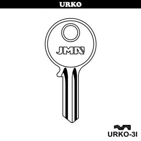 Llave serreta grupo b modelo urko3i (caja 50 unidades) JMA