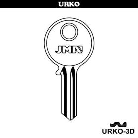 Llave serreta grupo b modelo urko3d (caja 50 unidades) JMA