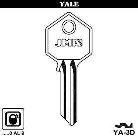 Llave serreta acero grupo c modelo ya3d (caja 50 unidades) JMA