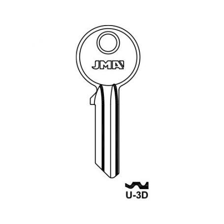 Llave serreta grupo b modelo u3d (caja 50 unidades) JMA