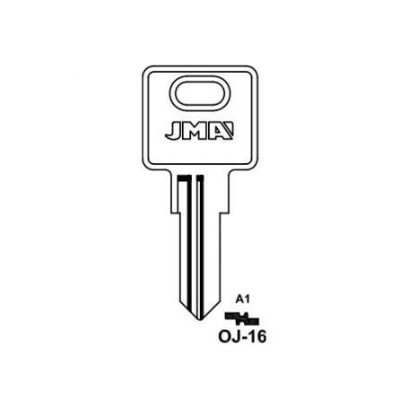 Llave serreta grupo b modelo oj16 (caja 50 unidades) JMA