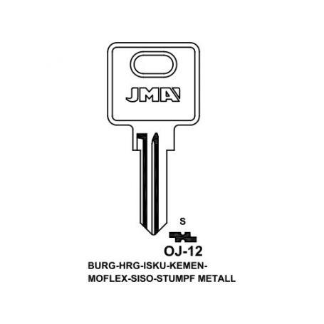 Llave serreta grupo b modelo oj12 (caja 50 unidades) JMA