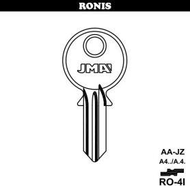 Llave serreta acero modelo ro4i (caja 50 unidades) JMA
