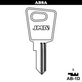 Llave serreta grupo C modelo AB-1D (caja 50 unidades) JMA