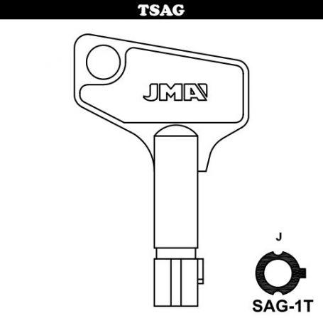 Llave tubular modelo sag1t JMA
