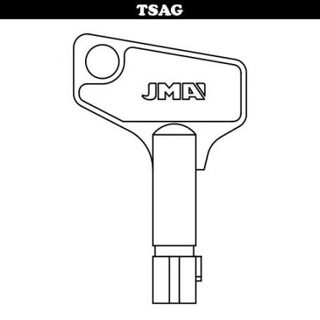 Llave tubular modelo sag5´5 JMA