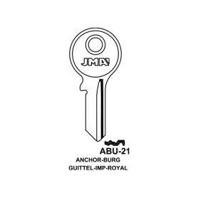 Llave serreta modelo abu21 (caja 50 unidades) JMA