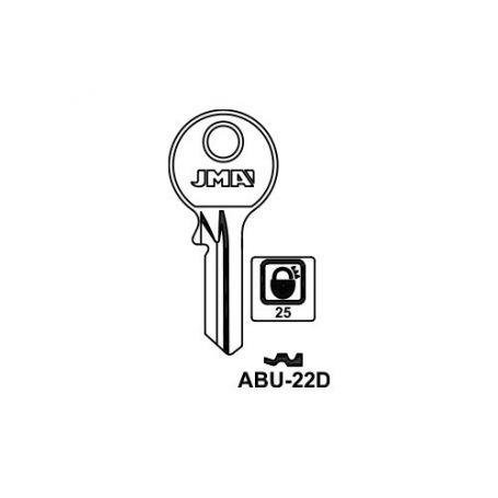 Llave serreta modelo abu22d (caja 50 unidades) JMA
