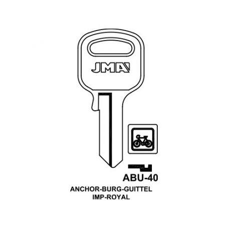 Llave serreta modelo abu40 (caja 50 unidades) JMA