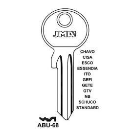 Llave serreta modelo abu68 (caja 50 unidades) JMA