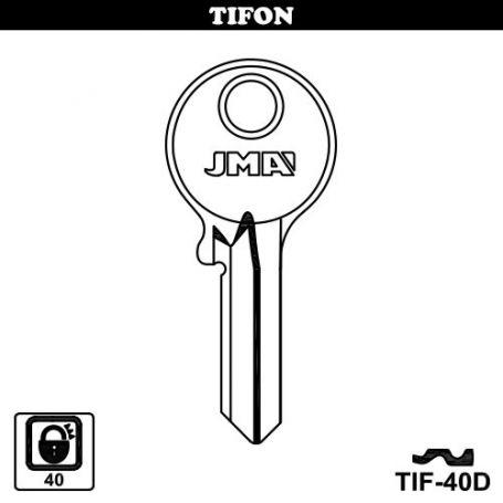 Llave serreta grupo b modelo tif40d (caja 50 unidades) JMA