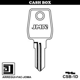 Llave serreta grupo C modelo CSB-1D (caja 50 unidades) JMA