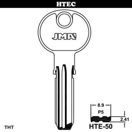 Llave de seguridad modelo HTE-50 de acero