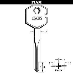 Llave de seguridad en cruz acero modelo fm2x (bolsa 10 unidades) JMA