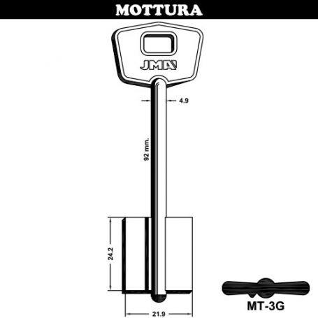 Llave de gorja laton modelo MT-3G