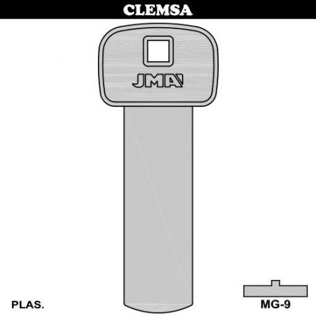 Llave magnetica 8 imanes mod MG9 JMA