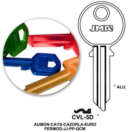 Llave serreta CVL-5D aluminio colores variados