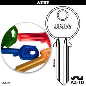 Llave serreta AZ-1D aluminio colores variados (caja 50 unidades) JMA