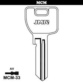 Llave serreta grupo C modelo MCM-33 (caja 50 unidades) JMA